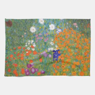 Gustav Klimt // Bauerngarten // Farm Garden Towel