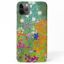 Gustav Klimt Bauerngarten Flower Garden Fine Art iPhone 11 Pro Max Case