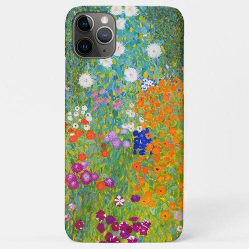 Gustav Klimt Bauerngarten Flower Garden Fine Art Phone Case