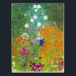"Gustav Klimt Bauerngarten Flower Garden Fine Art Postcard<br><div class=""desc"">Gustav Klimt Bauerngarten Flower Garden Fine Art Postcard</div>"