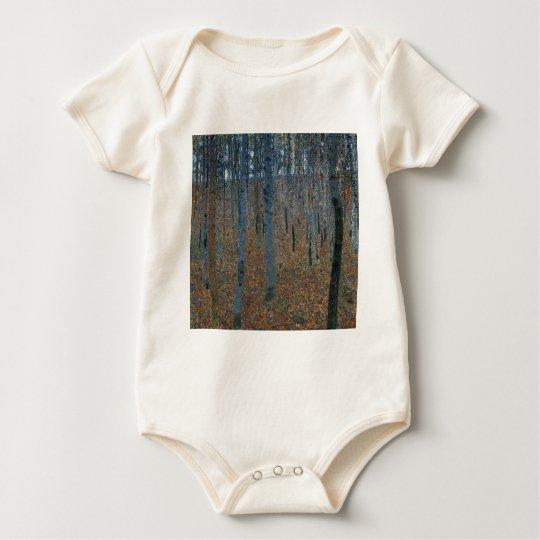 Gustav Klimt  Beech Grove Baby Bodysuit