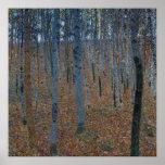 Gustav Klimt Beech Grove GalleryHD Fine Art Poster