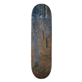 Gustav Klimt Beech Grove GalleryHD Fine Art Skateboard