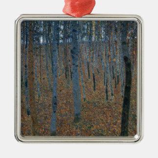 Gustav Klimt  Beech Grove Metal Ornament