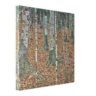 Gustav Klimt - birch Gallery Wrap Canvas