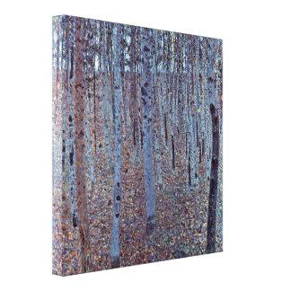 Gustav Klimt - Buchenhain Canvas Print