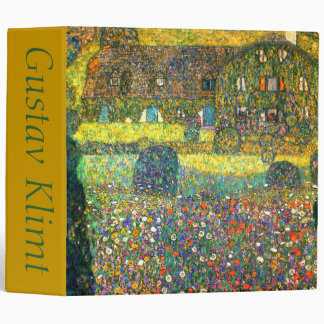 Gustav Klimt: Country House at the Attersee Binder