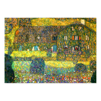 Gustav Klimt: Country House at the Attersee Large Business Cards (Pack Of 100)
