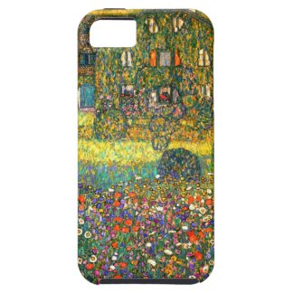 Gustav Klimt: Country House at the Attersee iPhone 5 Case