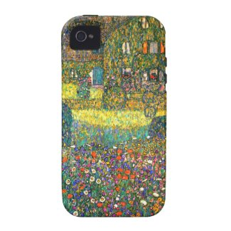 Gustav Klimt: Country House at the Attersee Case-Mate iPhone 4 Cover