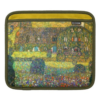 Gustav Klimt: Country House at the Attersee Sleeves For iPads