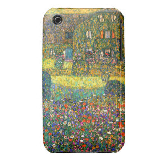 Gustav Klimt: Country House at the Attersee iPhone 3 Cover