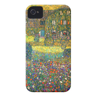 Gustav Klimt: Country House at the Attersee iPhone 4 Case-Mate Cases