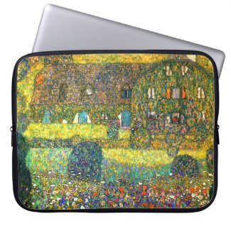 Gustav Klimt: Country House at the Attersee Computer Sleeves