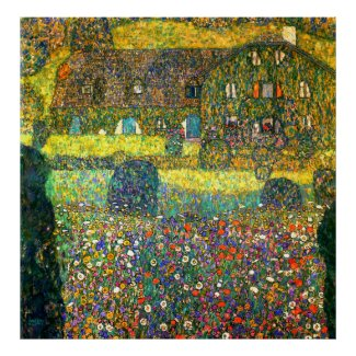 Gustav Klimt: Country House at the Attersee