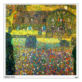 Gustav Klimt: Country House at the Attersee Wall Sticker