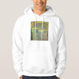 Gustav Klimt Country House by the Attersee Hoodie