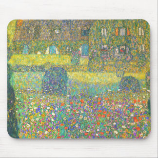 Gustav Klimt Country House by the Attersee Mouse Pad