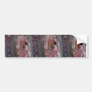 Gustav Klimt- Death and Life Bumper Sticker