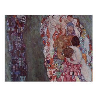 Gustav Klimt- Death and Life Postcard