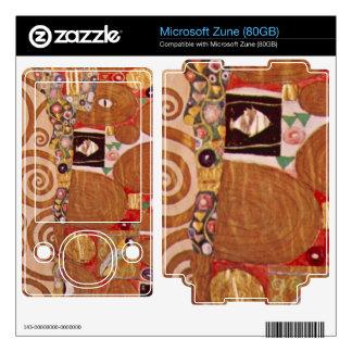 Gustav Klimt - Embrace Decal For The Zune
