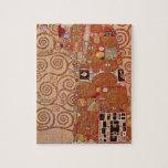 Gustav Klimt - Embrace puzzle