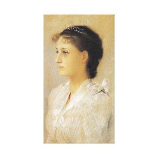 Gustav Klimt Emilie Floge Canvas Poster
