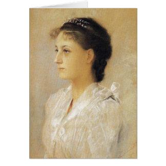 Gustav Klimt Emilie Floge Card