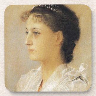 Gustav Klimt Emilie Floge Coasters