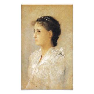 Gustav Klimt Emilie Floge Print