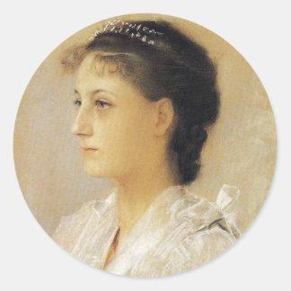 Gustav Klimt Emilie Floge Stickers