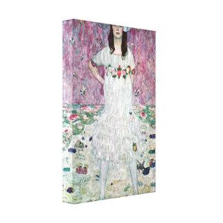 Gustav Klimt - Eugenia Primavesi Gallery Wrap Canvas
