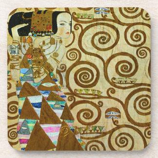Gustav Klimt Expectation Coasters