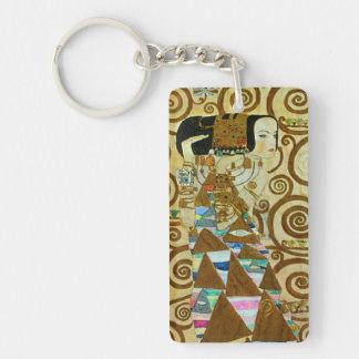 Gustav Klimt Expectation Key Chain