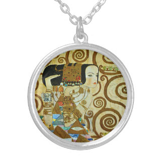 Gustav Klimt Expectation Necklace
