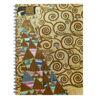 Gustav Klimt Expectation Notebook