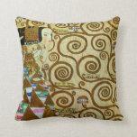Gustav Klimt Expectation Pillow