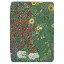 Gustav Klimt - Farm Garden With Flowers iPad Air Cover