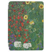 Gustav Klimt - Farm Garden With Flowers iPad Air Cover