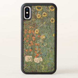 Gustav Klimt Farm Garden with Sunflowers GalleryHD iPhone X Case