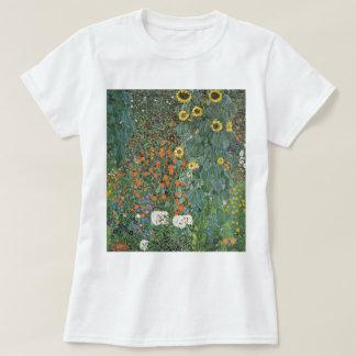 Gustav Klimt Farm Garden with Sunflowers GalleryHD T-Shirt