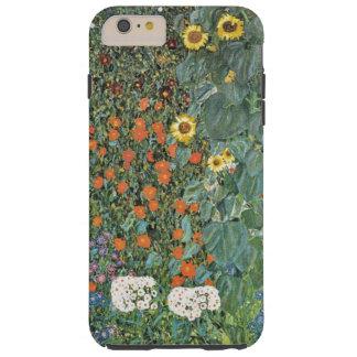 Gustav Klimt Farm Garden with Sunflowers GalleryHD Tough iPhone 6 Plus Case