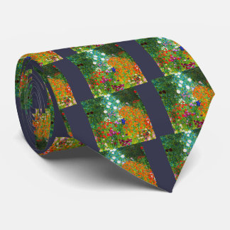 "Gustav Klimt, ""Farmhouse garden"" Neck Tie"