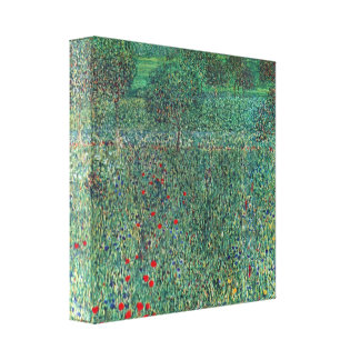 Gustav Klimt - Female act with Animals Gallery Wrapped Canvas