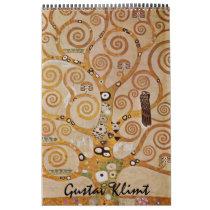 Gustav Klimt Fine Art, Vintage Art Nouveau Calendar