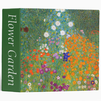 Gustav Klimt: Flower Garden Binder