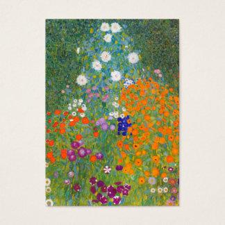 Gustav Klimt: Flower Garden Business Card