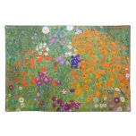 Gustav Klimt: Flower Garden Cloth Place Mat