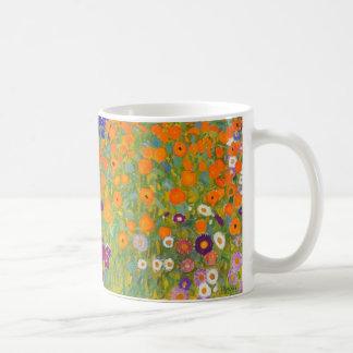 Gustav Klimt: Flower Garden Coffee Mug