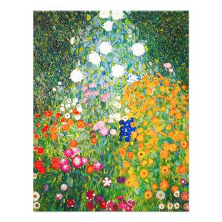 Gustav Klimt Flower Garden Invitations